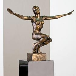 Figur Gracia bronze