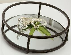 spiegeltablett rund d30cm geschenkideen b2 style. Black Bedroom Furniture Sets. Home Design Ideas