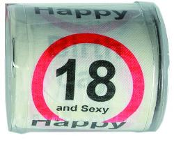 Toilettenpapier 18 Happy Birthday