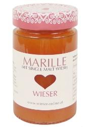 Marmelade Marille m. Single Malt WIESky 235g