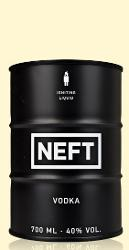 NEFT Vodka Black Barrel 0,7l
