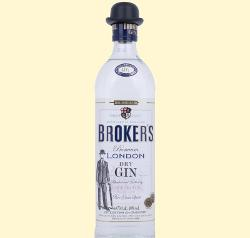 Broker's London Dry Gin 0,7l. 40%vol.